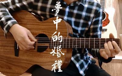 梦中的婚礼指弹吉他谱 演奏示范